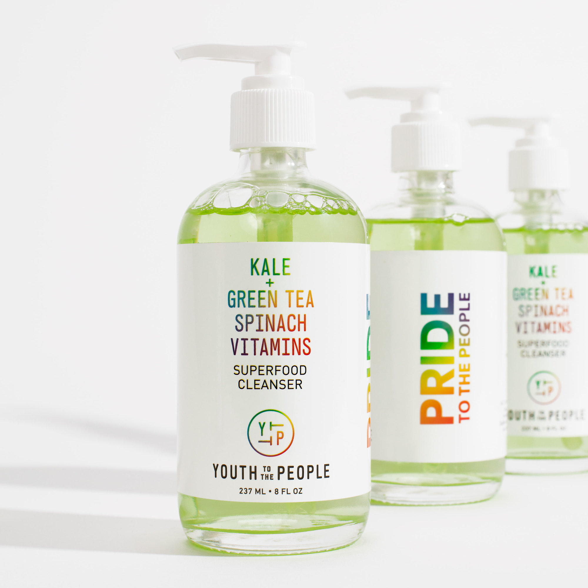 Youth To The People - Youth to the People has long been a disrupter in the skincare game. Harnessing superfood ingredients in a sustainable way to cater to the on-the-go lifestyle of millenials. It comes as no surprise that the brand would support some of the generation's idealogies.100% of profits (Up to $50,000) from the Limited Edition Superfood Cleanser ($36) are donated to GLSEN, an organization on a mission to provide educational environments that are inclusive to LGBT students.