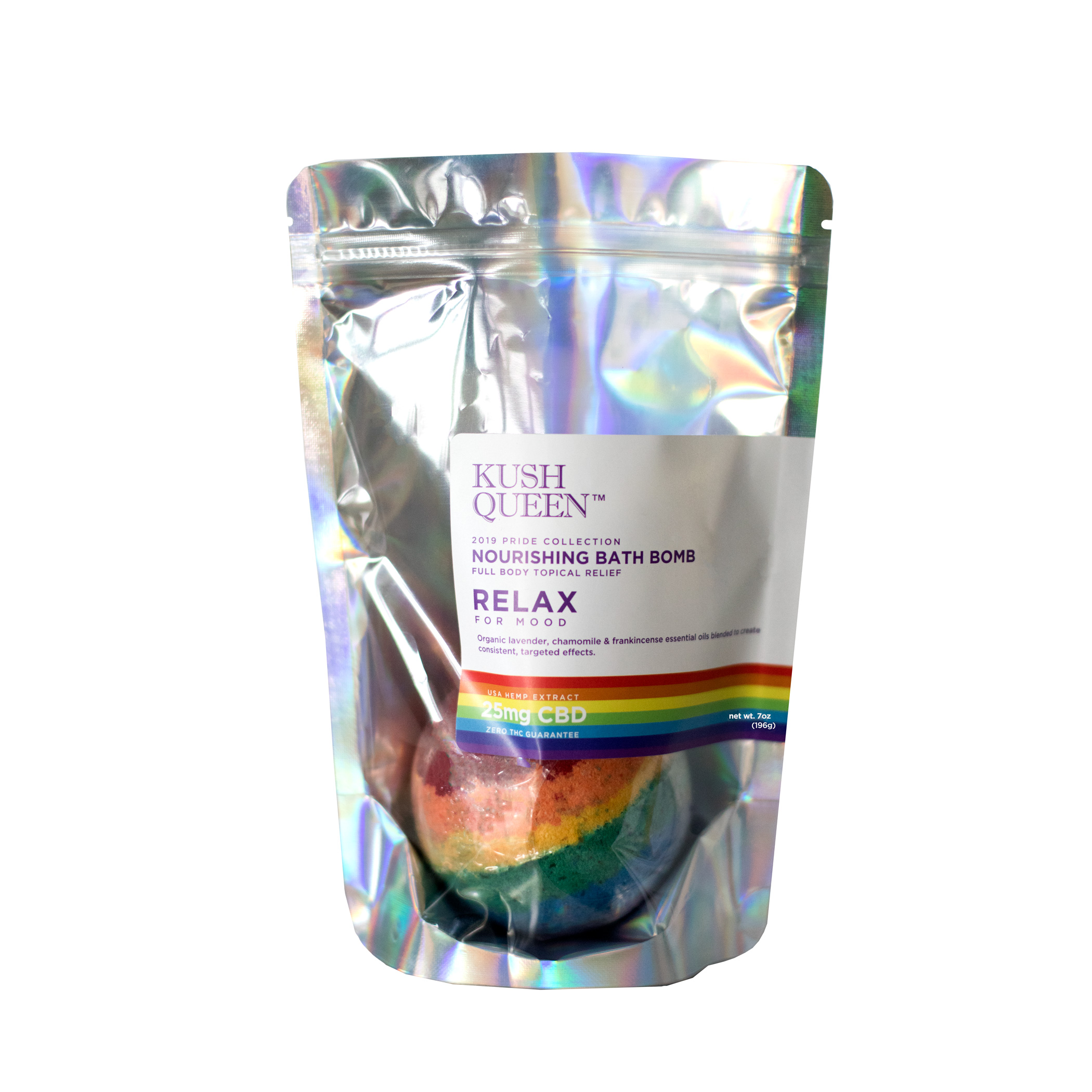 Kush Queen - Female founded company Kush Queen brings hemp lifestyle products to the masses. CBD has been found to ease inflammation as well as anxiety, without any of the psychoactive symptoms associated with the idea of weed.The 2019 Pride collection includes three products (a tincture, a bath bomb, and a lubricant). You can buy them all separately or buy the full set for $100 (almost a quarter less than buying the pieces individually). 20% of all pride collection sales go to Trans Lifeline to provide resources and assistance to transgender individuals.