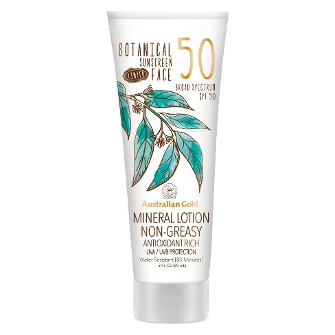 Australian Gold Botanical SPF 50 Tinted Face Lotion