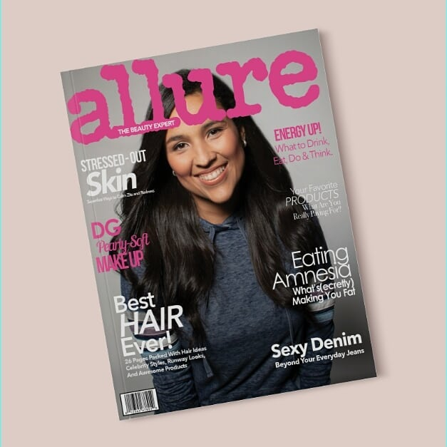 Magazine series - Part III - photoshop effects - #photoshop #photoshoot #photograpy #magazine #allure #alluremagazine #design #graphicdesign #skin #naturalskin #latinas #natural #lighting #miami #nyc #creativedesign Photography -  @svitlana_kyfiak