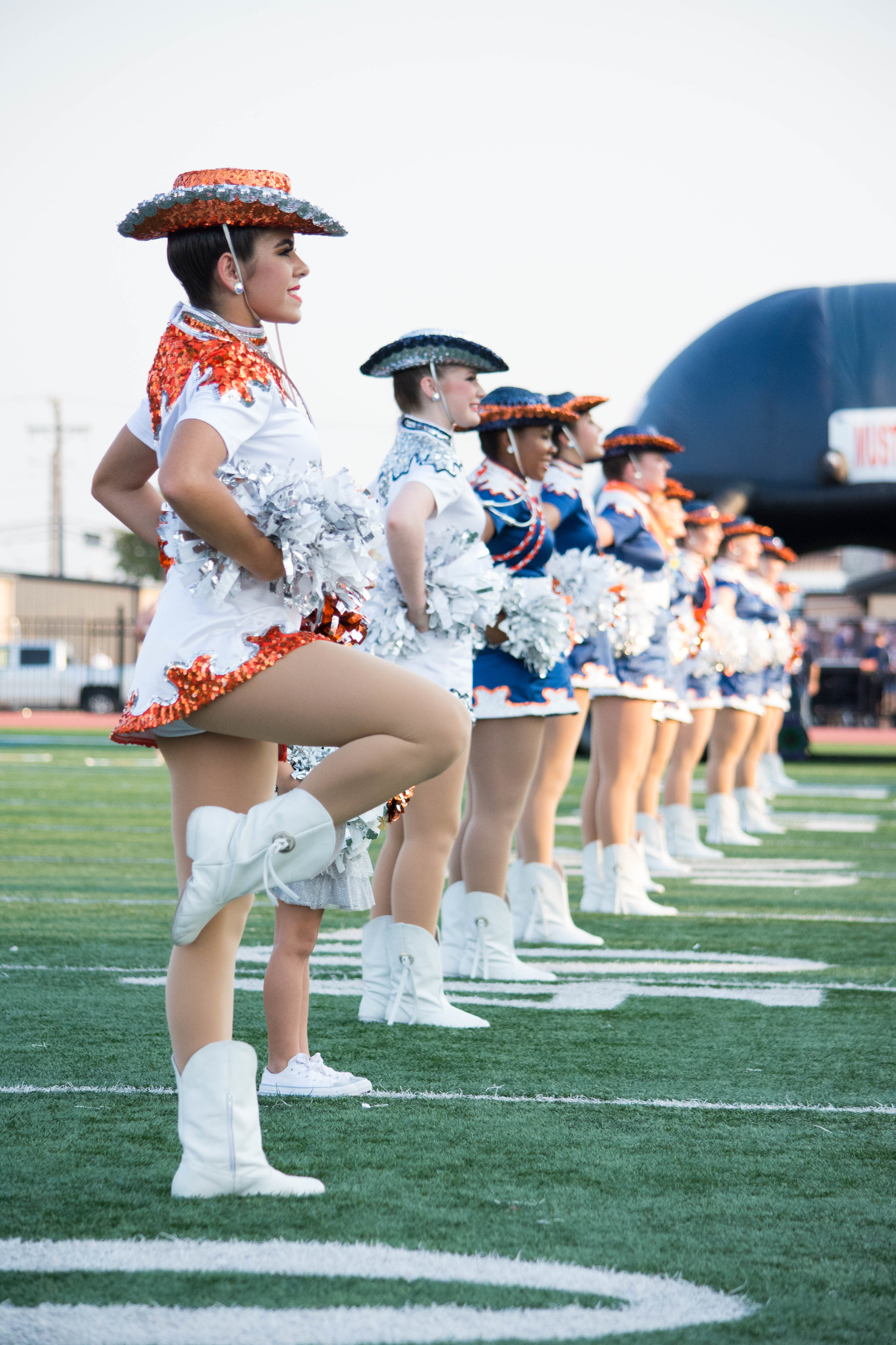 "Sachse High School's Drill Team ""The Swingsters"""