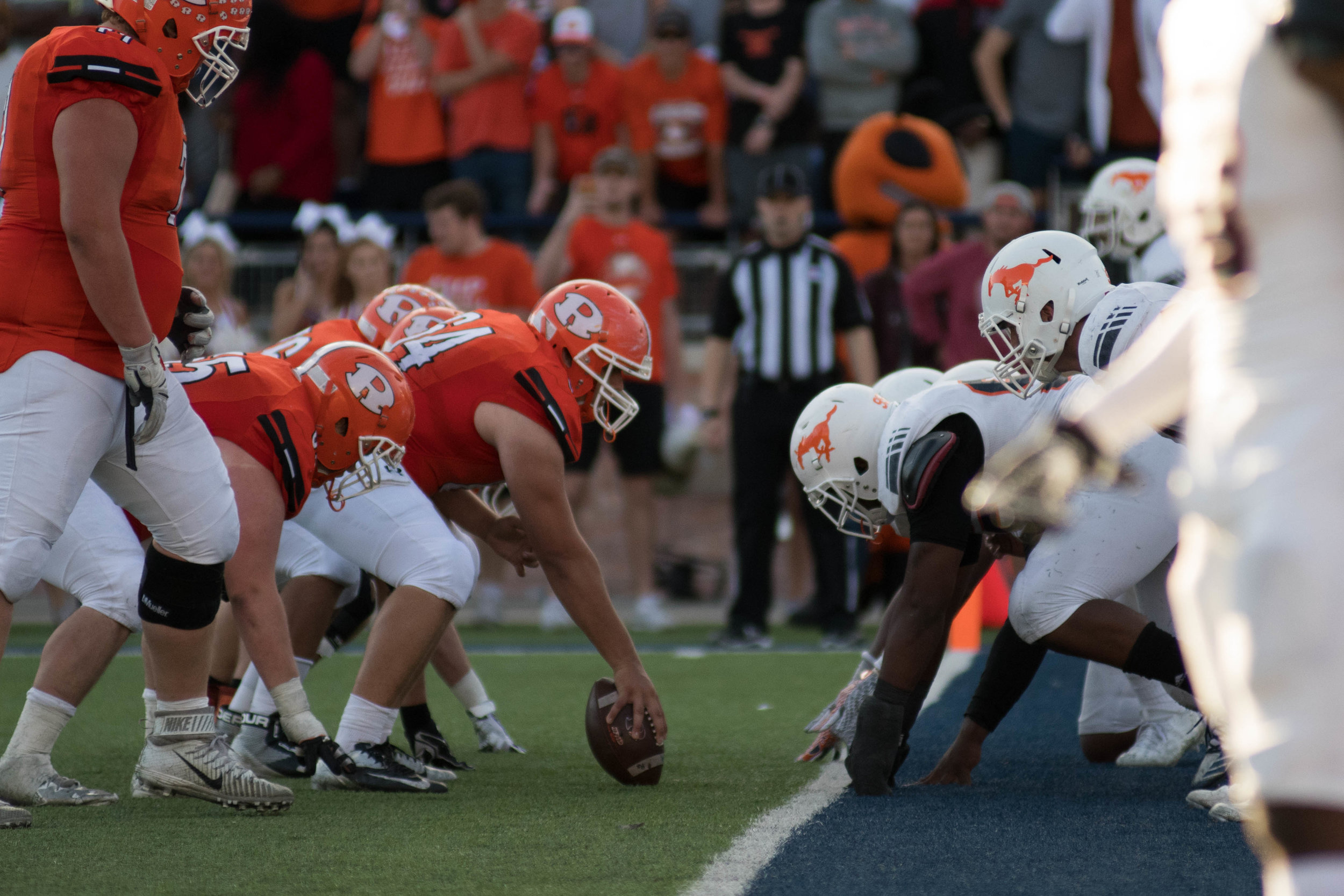 Final play of the game, Rockwall on 4th down, ball on Sachse's 1/2-yard line. | Shot with Nikon D500 w/ Nikkor 80-200 f2.8