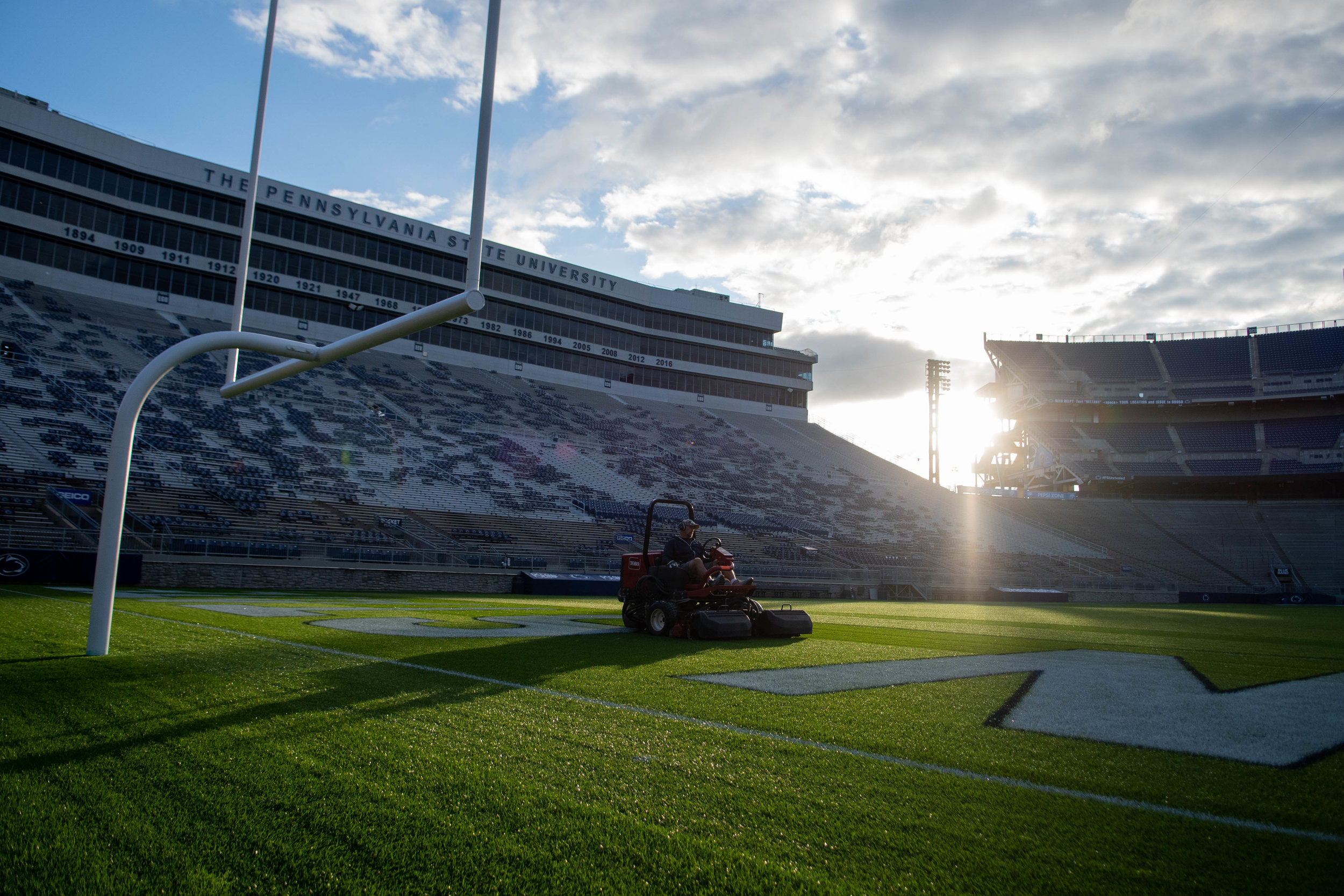 Cutting Edge - Behind the scenes of Penn State Football's most important asset––the Beaver Stadium Grounds Crew.