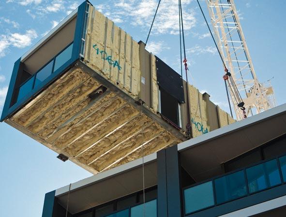 3 East Apartments, Architect: Fender Katsalidis, Manufacturer: Unitised Building