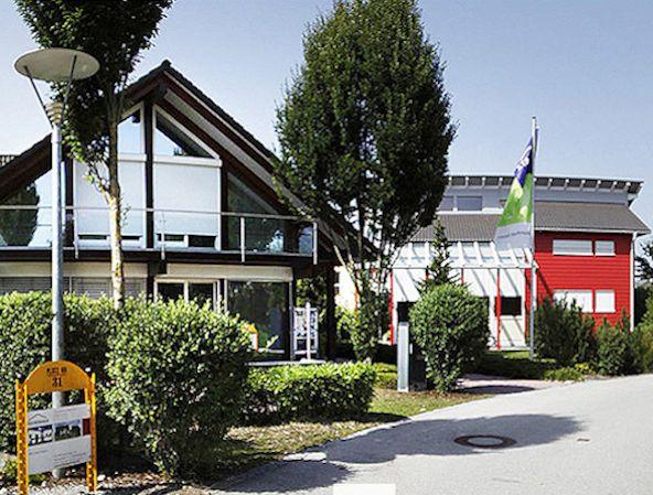 Prefab Display Homes at Fertighaus Welt, Munich