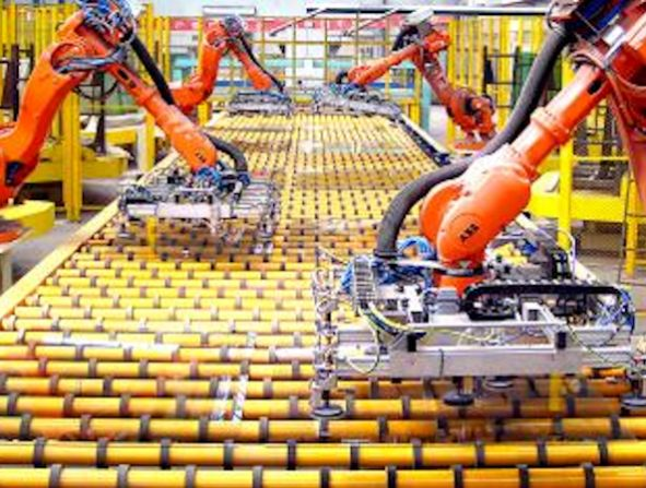 Robotised Architcture - disruptive construction technology