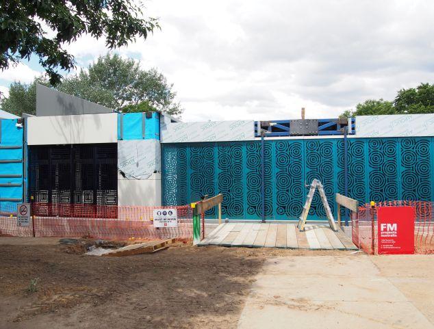 In progress shot of Duffy Primary School, Canberra