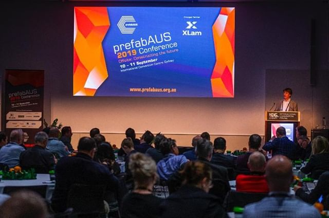 The prefabAUS 2019 Conference is running for its second day in the beautiful ICC Sydney. We hope you are enjoying every minute of it and gaining insightful information from our speakers and exhibitors.  #prefabausSYD19 #constructingthefuture #Innovation #prefab #architecture  #design  #construction
