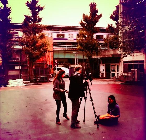 Filming In Tokyo, Levis