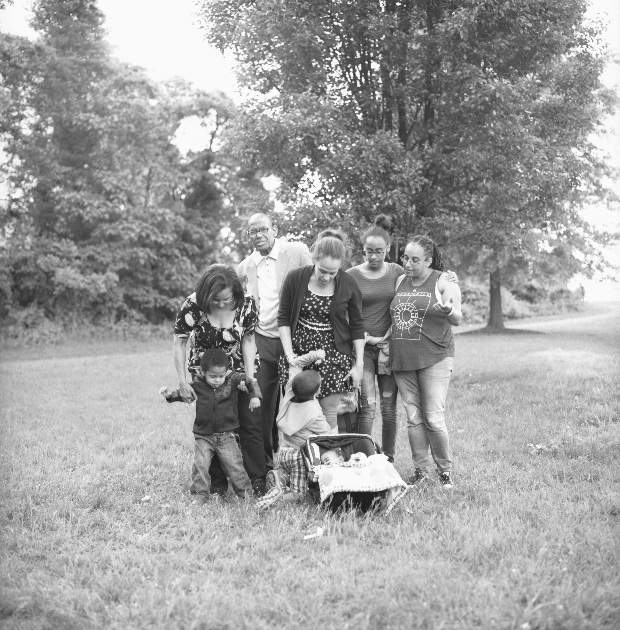 Laura & her family