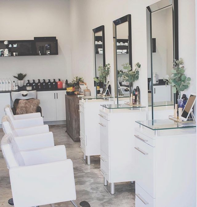 """My new home in the world of hair ✨  Feeling so lucky that I get to be apart of something SO big. My boss & salon owner @michaela.mstyling took a huge leap with her career in opening an NBR ONLY boutique salon. She turns incredible business ideas into real life opportunities and does what other people defy as """"impossible"""". I still cannot believe that this is my new home in the hair world and I feel so truly lucky to be here fulfilling this dream of mine to know MORE and to do BETTER. I literally get EXCITED to go to work. I cannot wait to begin my @naturalbeadedrowsextensions pre-training and attend BMSCon4 In November so that I too, can bring some amazing things to the plate.  Thank you to my boss and coworkers to welcoming me to @m.styling with arms wide open 💛 I'm finally feeling like I'm exactly where I need to be."""