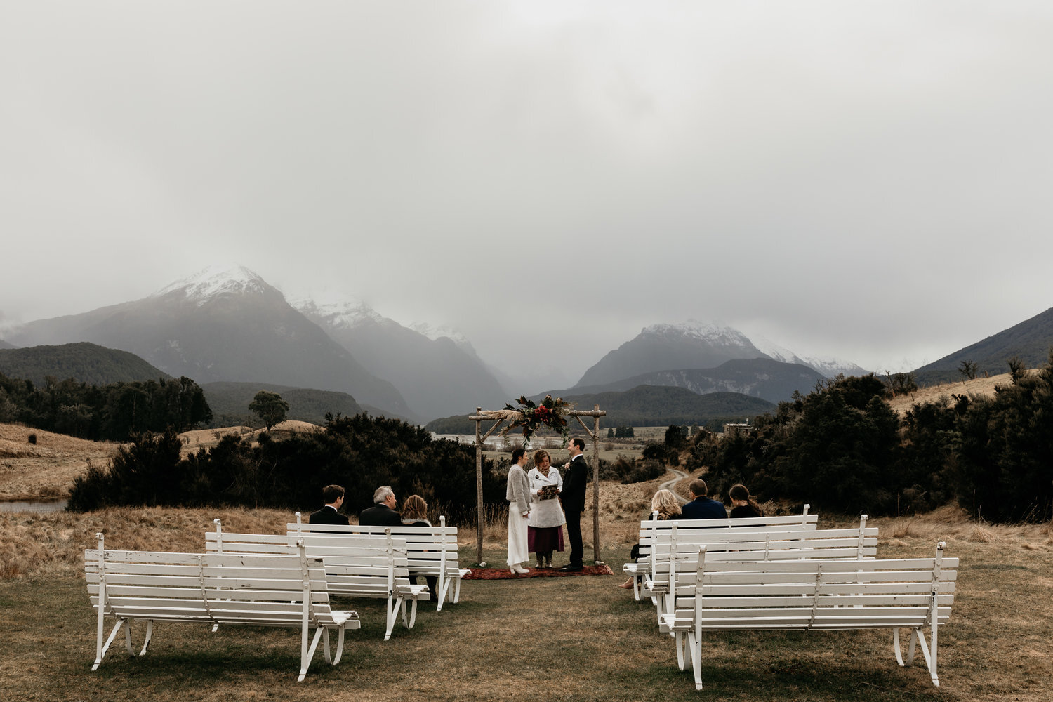 Paradise Trust, New Zealand - Paradise Trust is a wedding location as opposed to a wedding venue and we are located in the heart of the mountains about one hours drive from Queenstown.