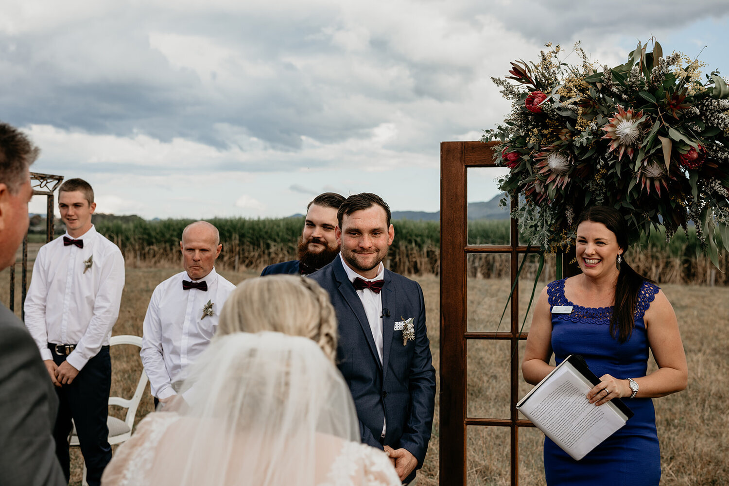 Leisa Ottley - I tell love stories!! My official title is 'Civil Marriage Celebrant', which means I guide couples through one of the most exciting, nerve-racking, emotion filled moments of their lives and that's pretty cool.