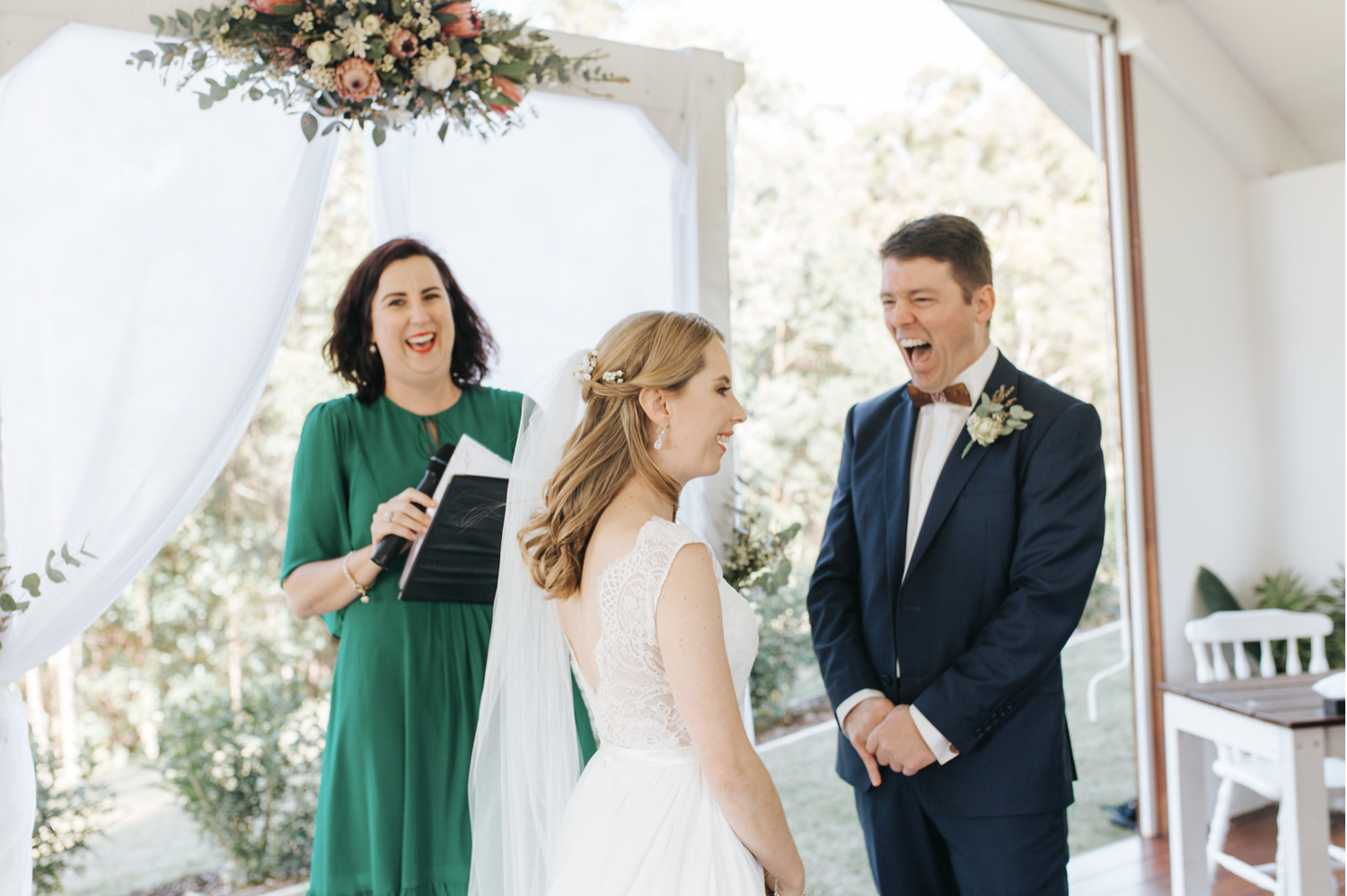 Elizabeth Jesse - Your ceremony should be the very best part of your day! It is the official party starter. I ensure that I understand my couple's vision and most importantly any needs or desires for their day.