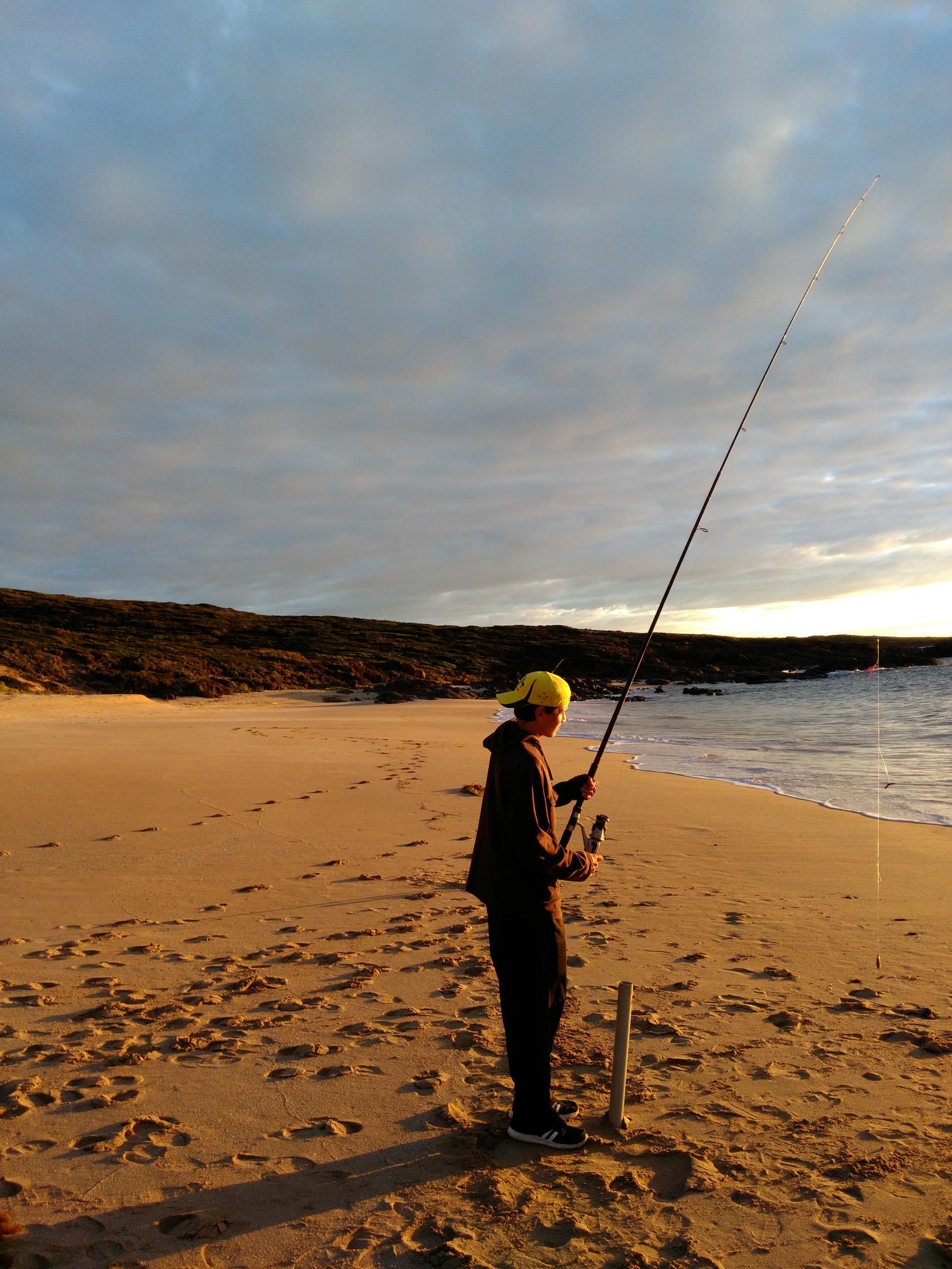 Surf Fishing Tasmania