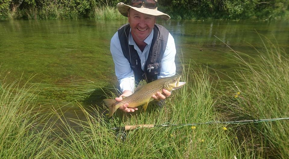Memorable fish for Scott, presented 5 different flies before the take.