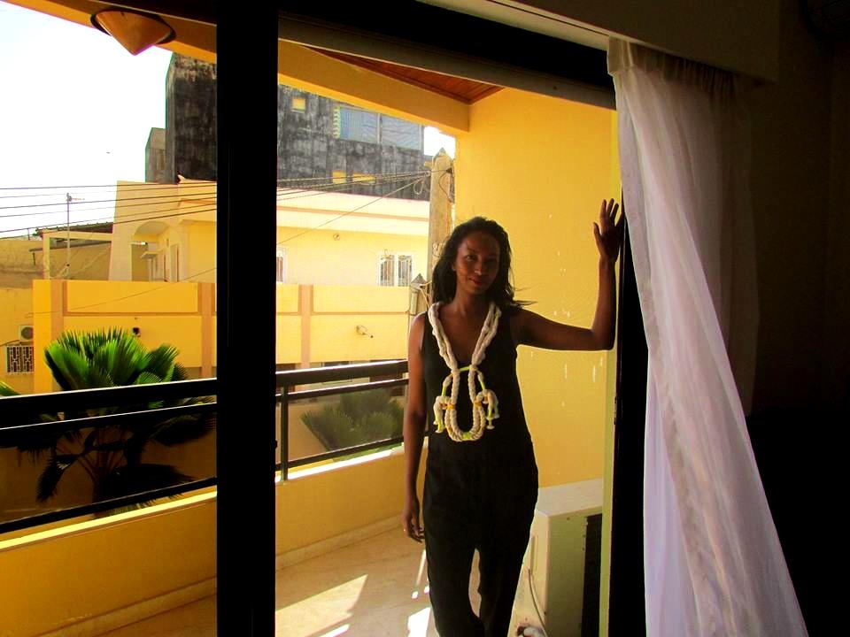 Mariane Lenhardt in Dakar