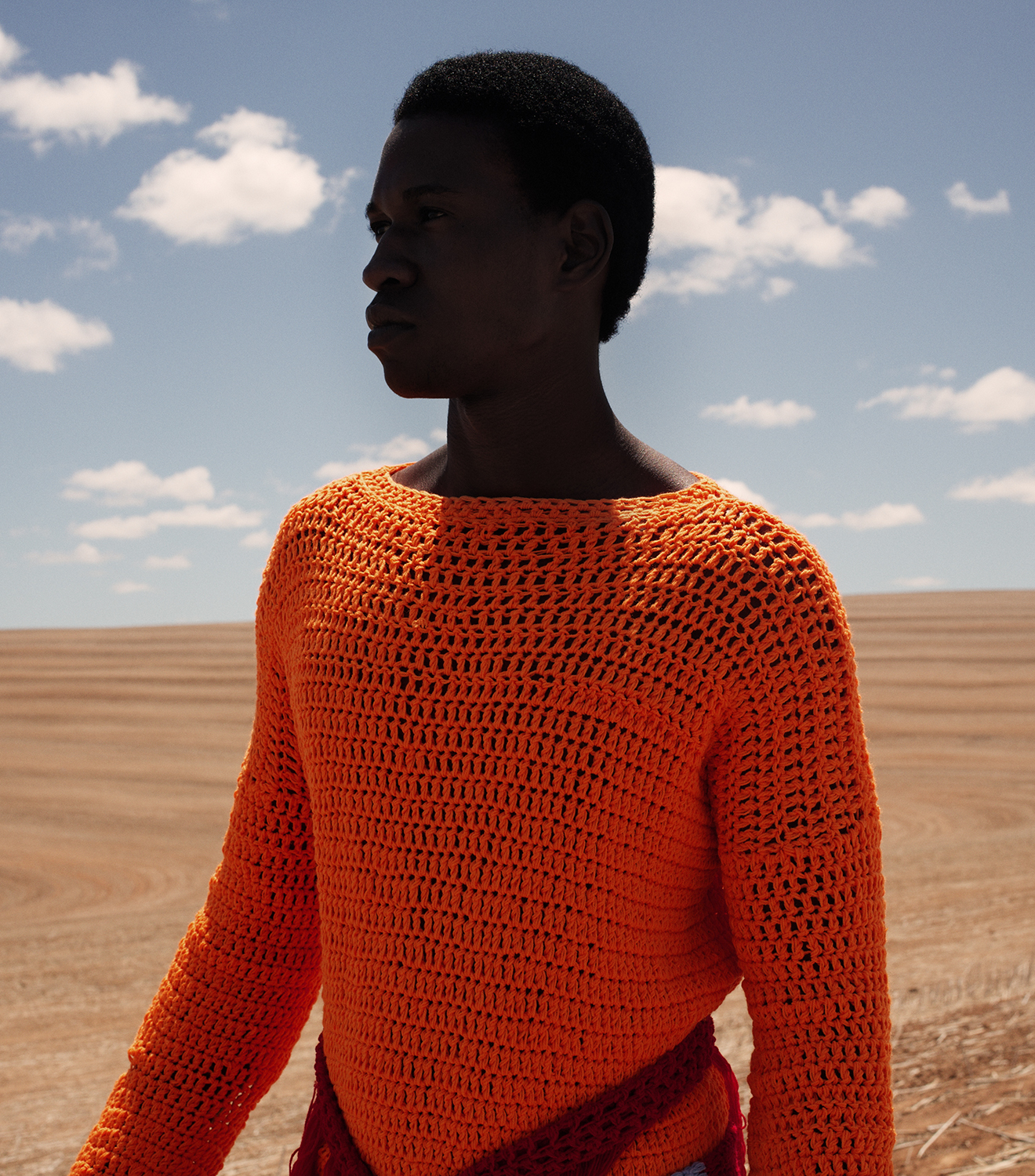 Orange Culture A/W 16:17 Ad Campaign  Collaborations:  Jewelry: Neon Zinn  Shoes: Maxivive  Bags: Nodrog Street  Photography: Travys Owen at One League Agency  Styling/Art Direction: Gabrielle Kannemeyer  Models: Kwen Maye, Ronald Agbazagan, Kevwe, and Samuel Mukhuwana at 20 Model Management