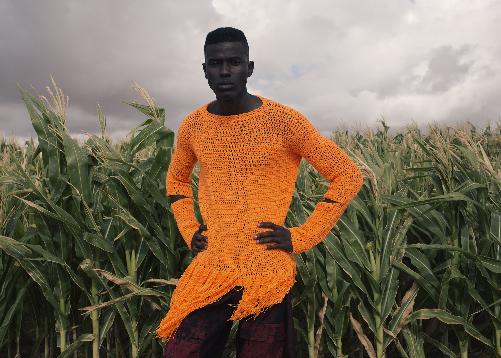 S.E.N.S.E.S.  Orange Culture A/W 16:17 Lookbook  Collaborations:  Jewelry: Neon Zinn  Shoes: Maxivive  Bags: Nodrog Street  Photography: Travys Owen at One League Agency  Styling/Art Direction: Gabrielle Kannemeyer  Models: Kwen Maye, Ronald Agbazagan, Kevwe, and Samuel Mukhuwana at 20 Model Management