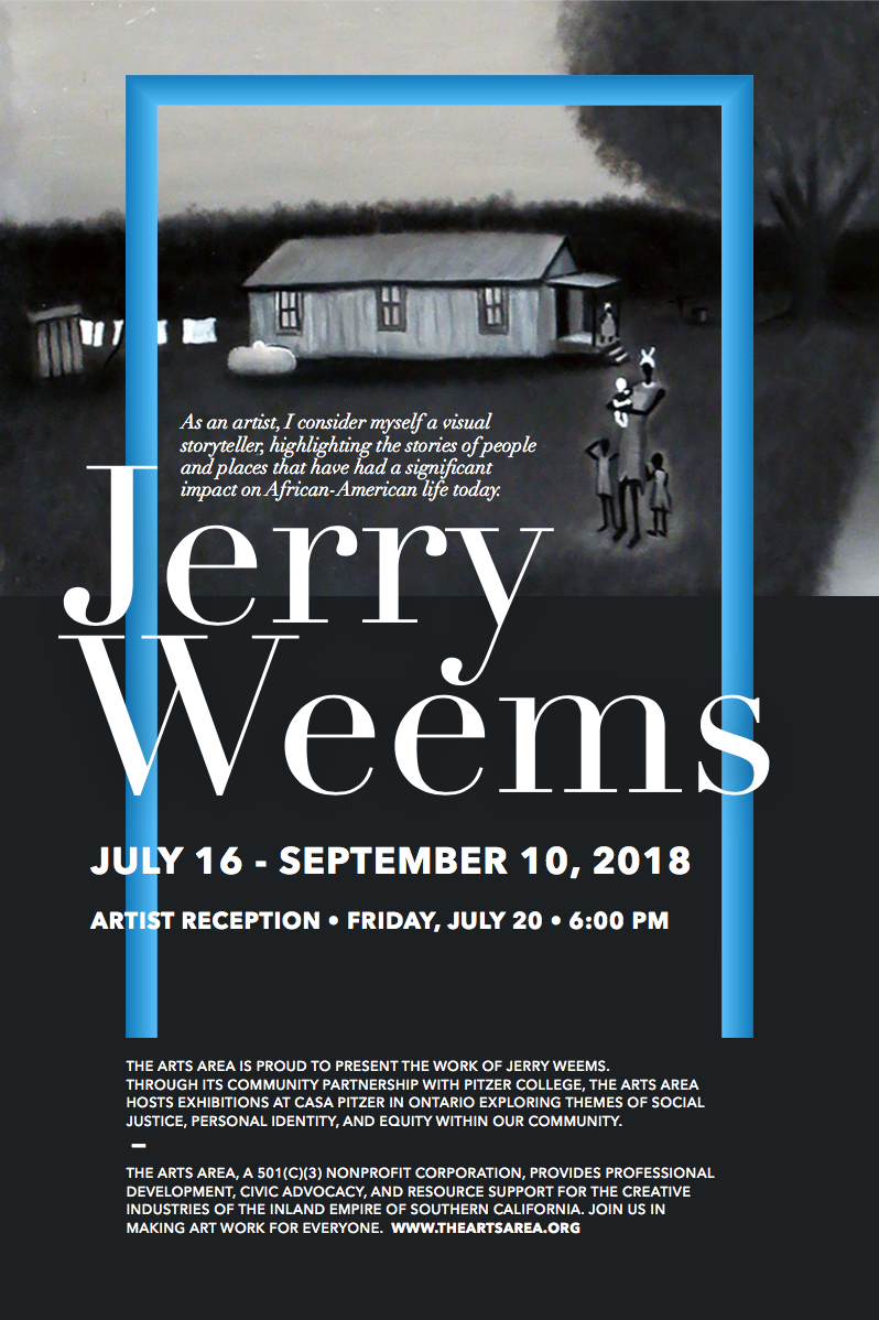 JERRY WEEMS : July 16 - September 10, 2018