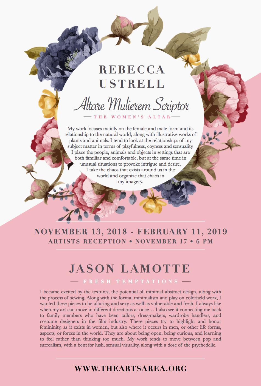 USTRELL / LAMOTTE: November 13, 2018 - February 11, 2019