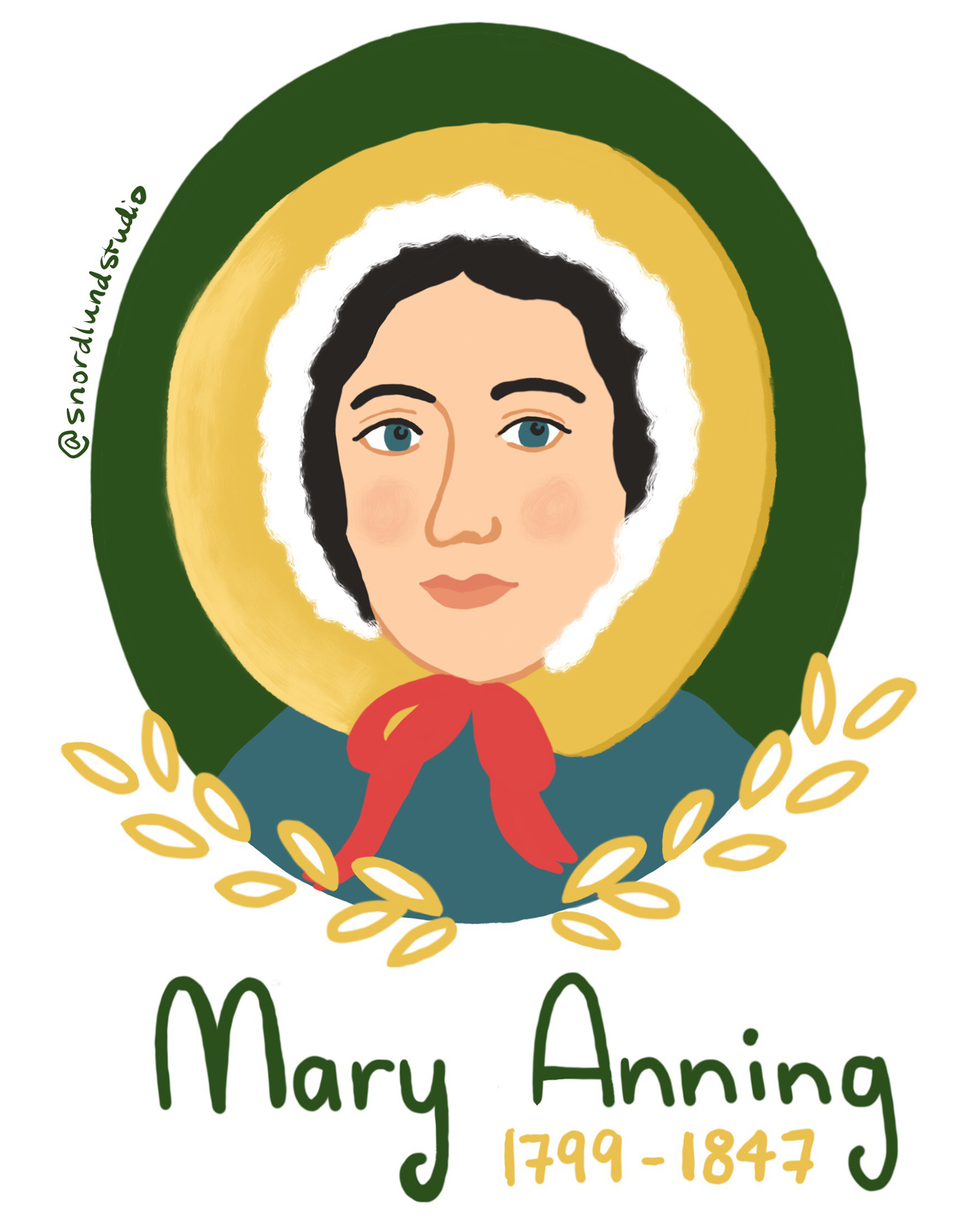 1. Mary Anning - Mary Anning (1799-1847) was a paleontologist, geologist, scientific illustrator, and business owner.