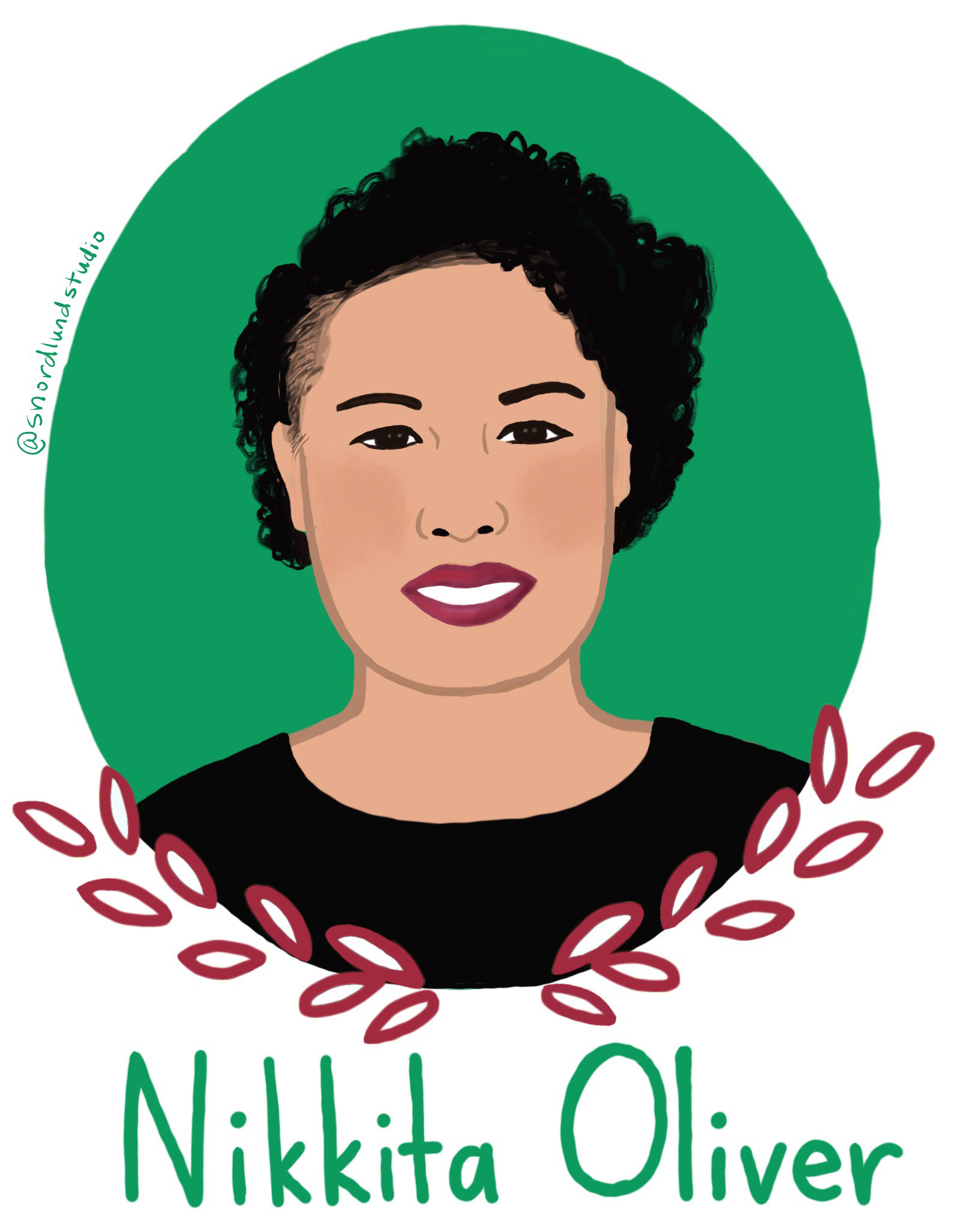 5. Nikkita Oliver - Nikkita Oliver is an activist, poet, teacher, attorney, and former mayoral candidate.
