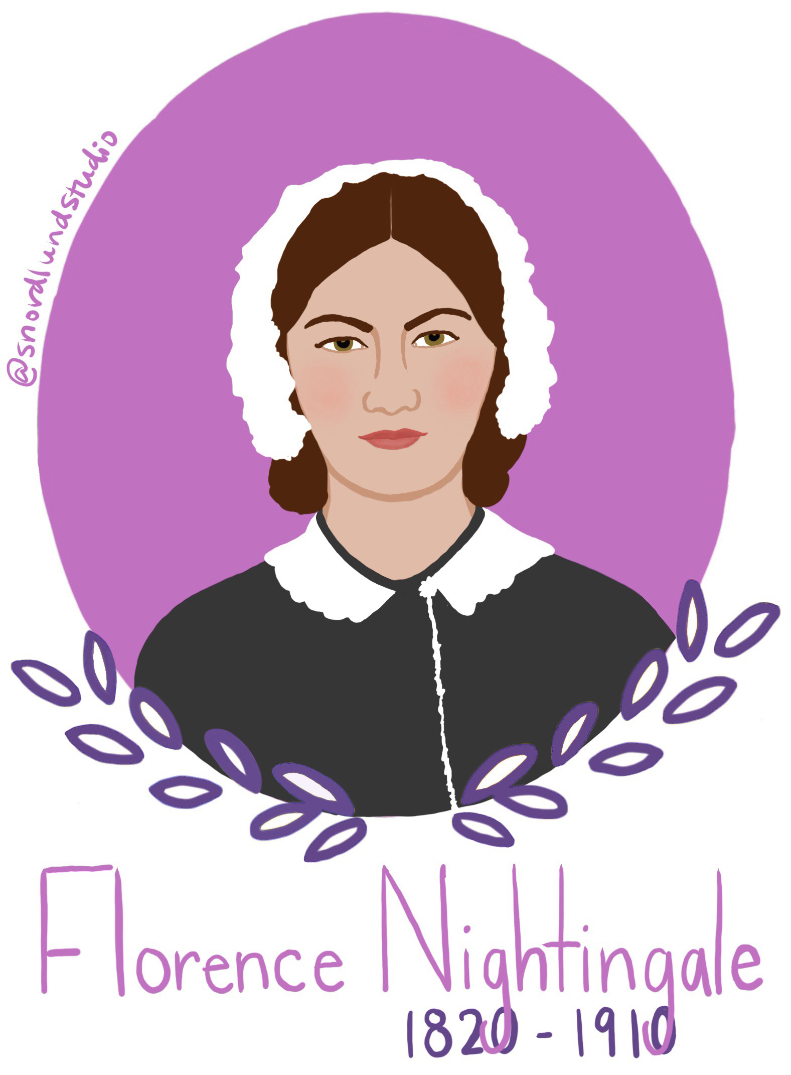 11. Florence Nightingale - Florence Nightingale (1820-1910) was a statistician, social reformer, and founder of modern nursing.