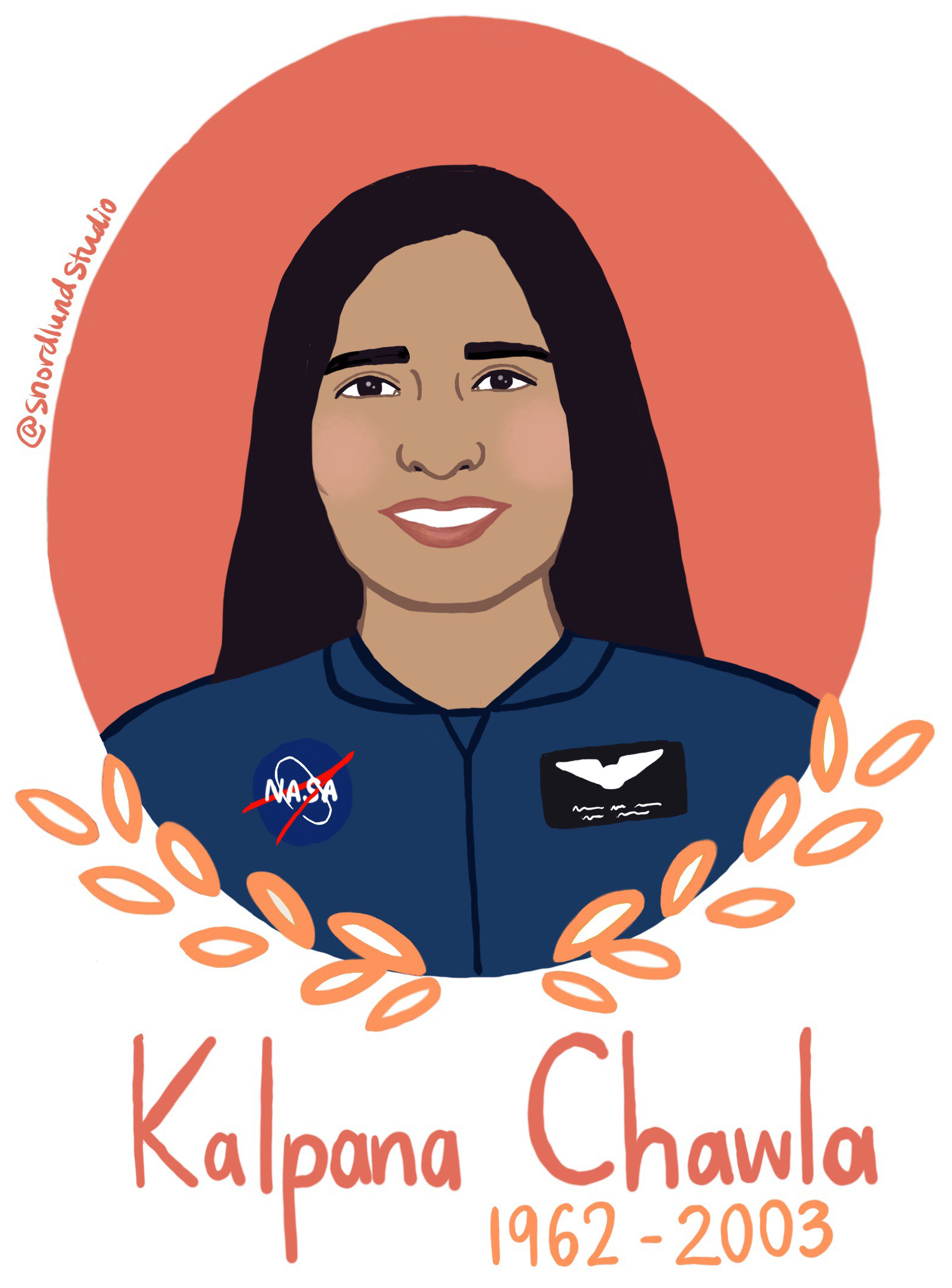 19. Kalpana Chawla - Kalpana Chawla (1962-2003) was an astronaut and aerospace engineer. She was the first woman of Indian origin to go to space, and she died in the Columbia disaster.