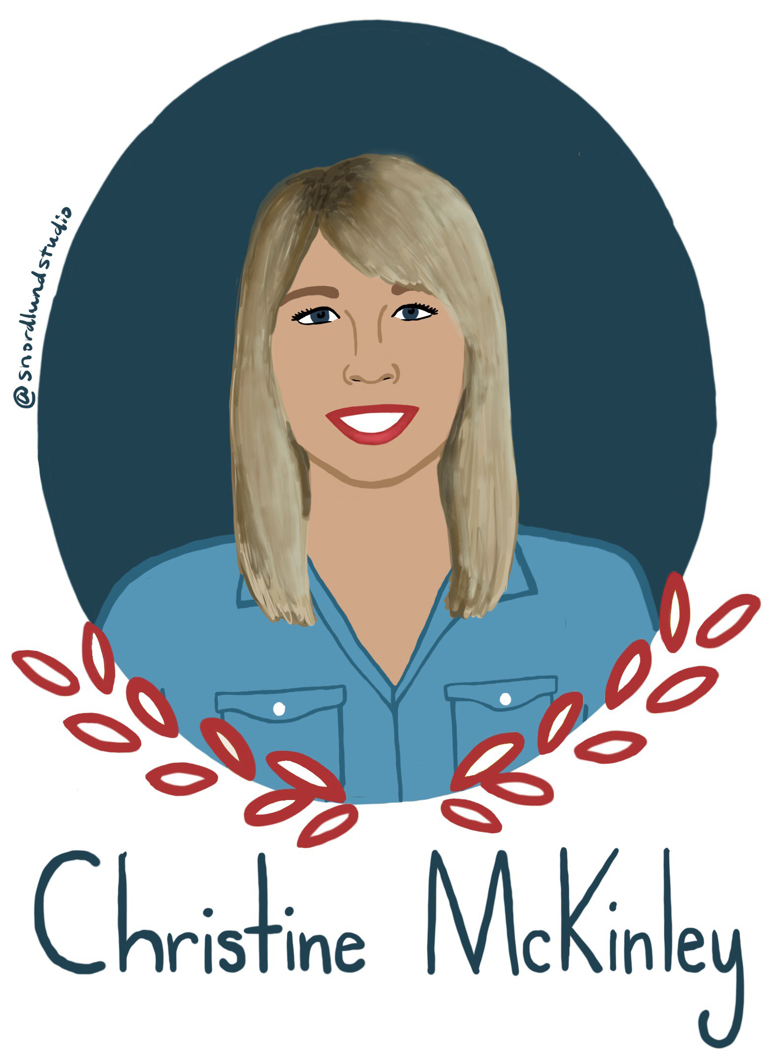21. Christine McKinley - Christine McKinley is an engineer, musician, and author.