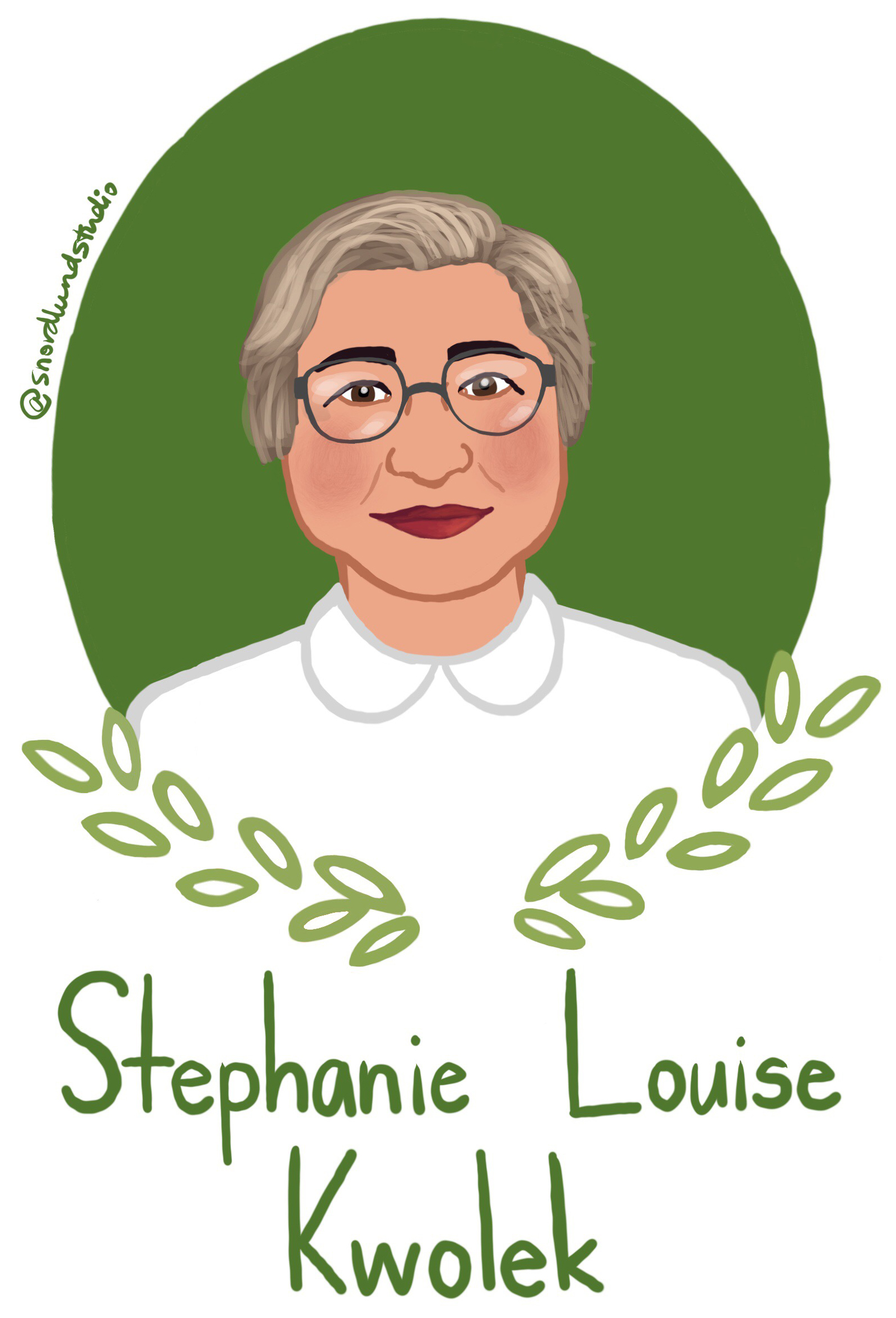 35. Stephanie Louise Kwolek - Stephanie Louise Kwolek (1923-2014) was a chemist and inventor. Kwolek is most well-known for inventing high-strength synergetic fibers aka Kevlar. She was the fourth woman added to the National Inventors Hall of Fame.