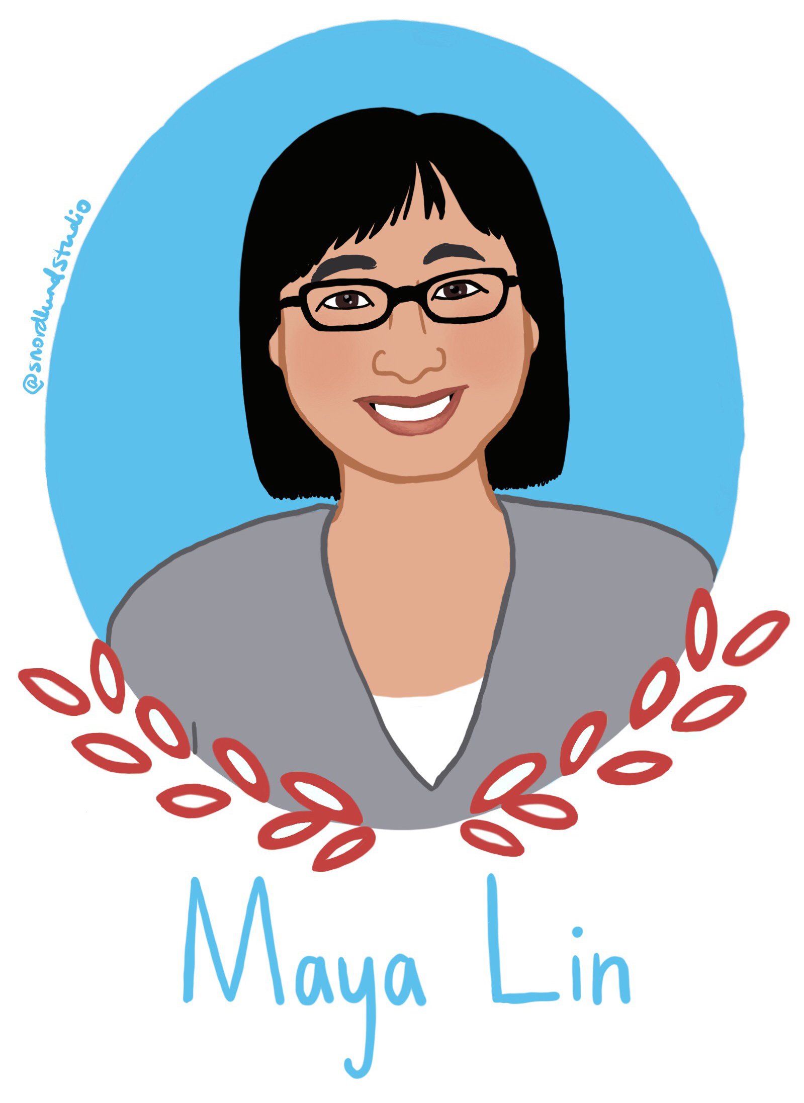 39. Maya Lin - Maya Lin is a designer, architect, and artist.