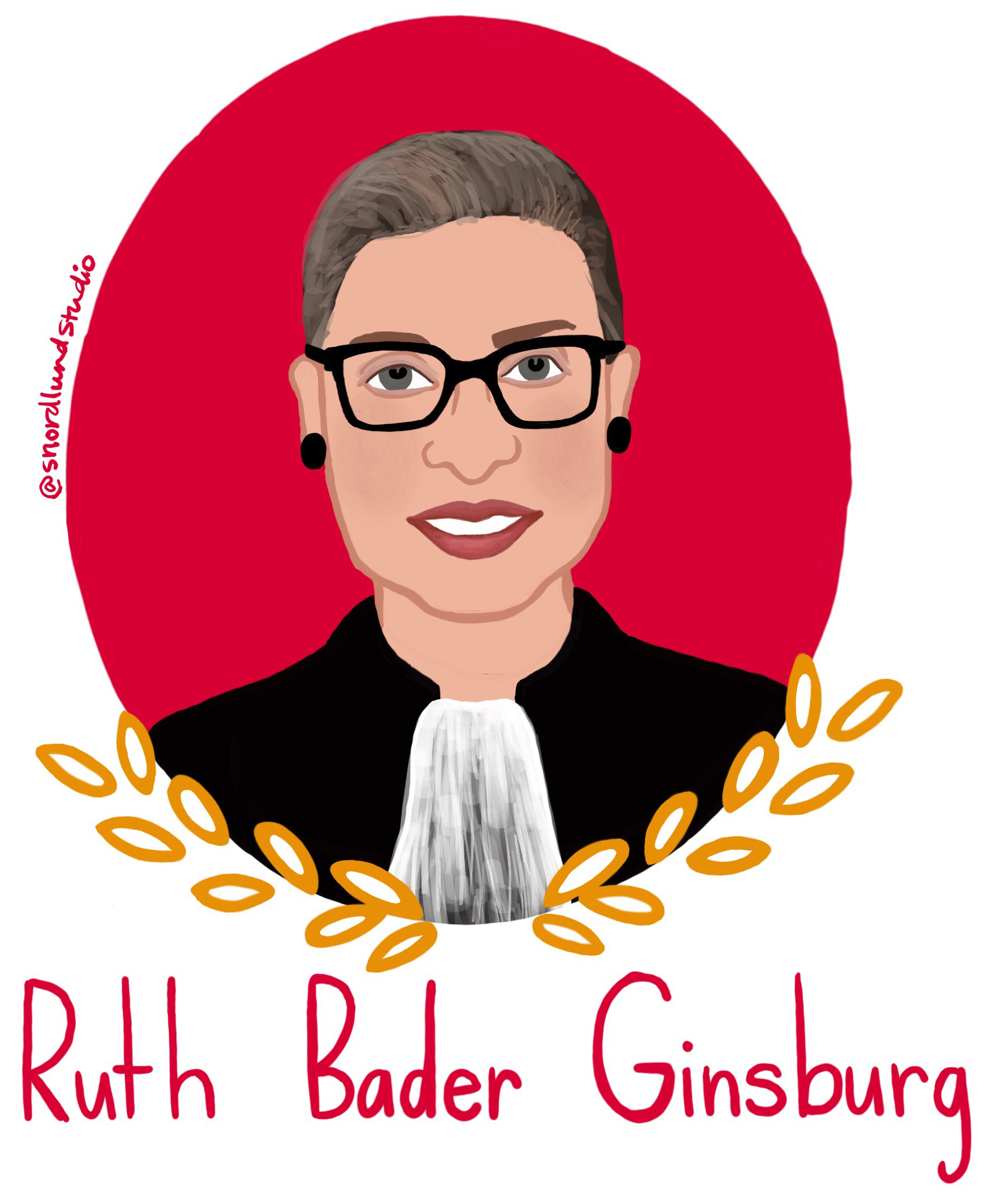 42. Ruth Bader Ginsburg - Ruth Bader Ginsburg is an Associate Justice of the Supreme Court, and she was the second female justice to be confirmed. Ginsburg studied law at Harvard while also being a wife and a mother. She actively fights for gender equality and women's rights.
