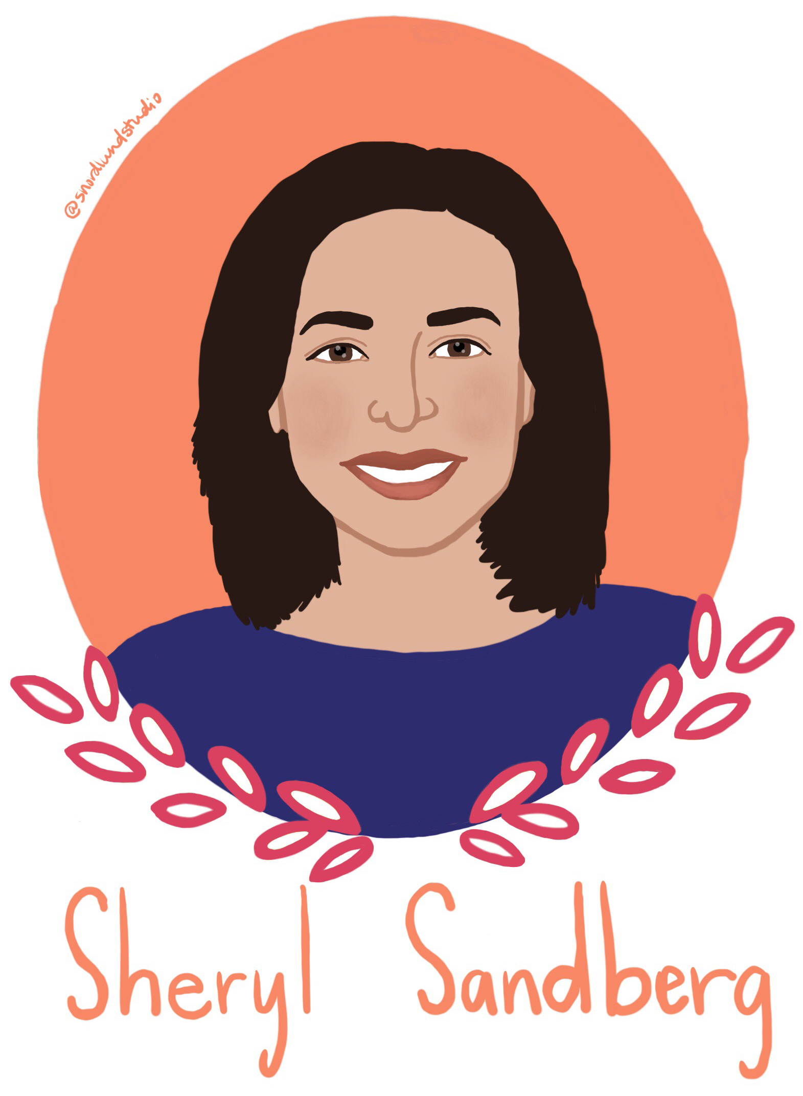 43. Sheryl Sandberg - Sheryl Sandberg is the chief operating officer of Facebook and the founder of Leanin.org. She is also an author, most notably for her book, Lean In.