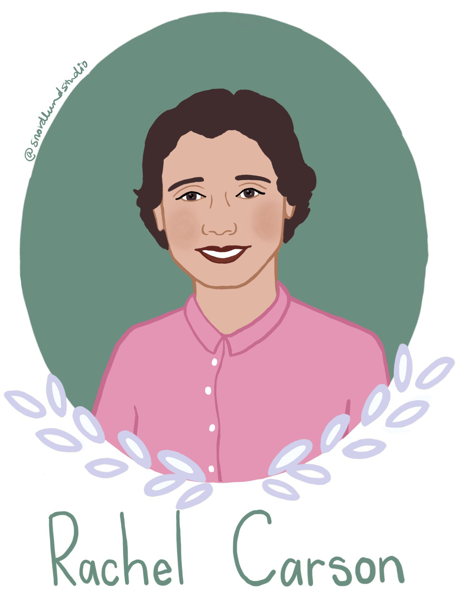 49. Rachel Carson - Rachel Carson (1907-1964) was a marine biologist, conservationist, and author. Carson's most famous book, Silent Spring, helped advance the global environmental movement by discussing harmful effects of pesticides.