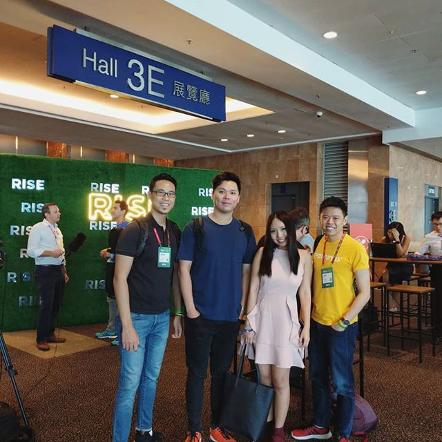Another year, another #RISEConference. 👋🎉 3rd year here! ° ° #hkig #hkiger #hklife #startup #startuplife #hkgirl #like4likes #tagforlikes #likebackinstantly #exploretheworld