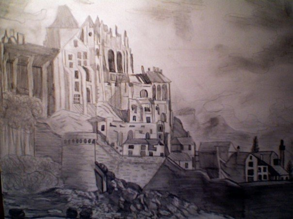 Exhibit A: Stephanie draws castles. Only Geeks draw castles.
