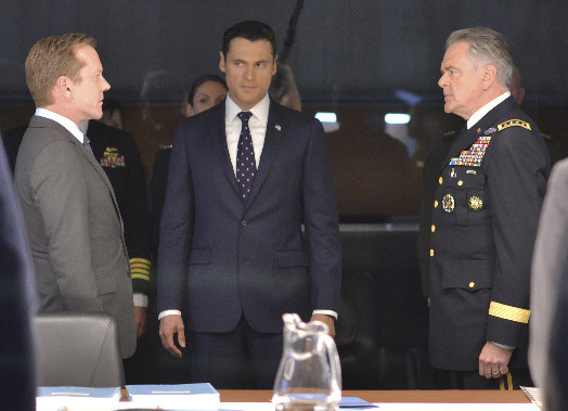 Foreshadowing White House-Military relations in Donald Trump's War Room Credit: ABC