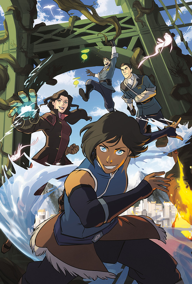 Legend of Korra Turf Wars, Dark Horse Comics