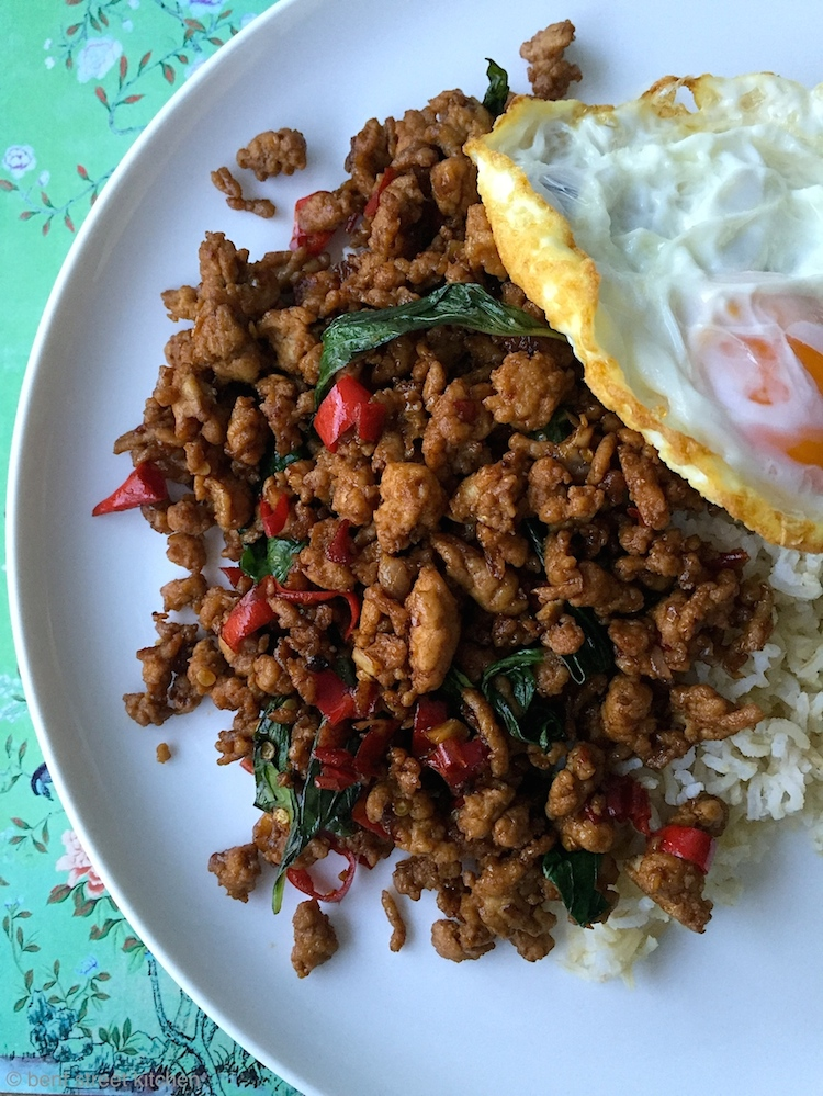 Thai Basil Chilli Chicken by Bent Street Kitchen