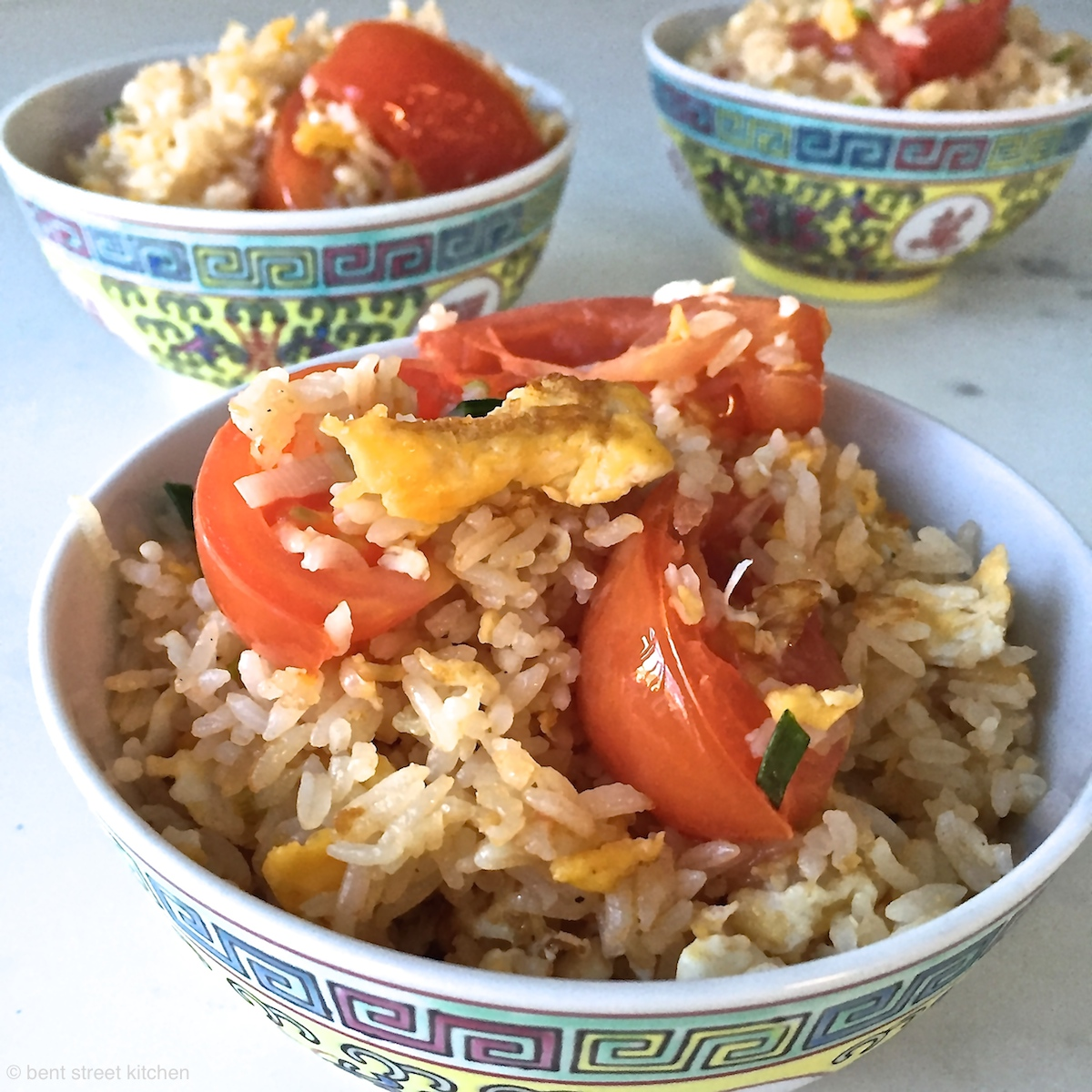 egg and tomato fried rice by Bent Street Kitchen