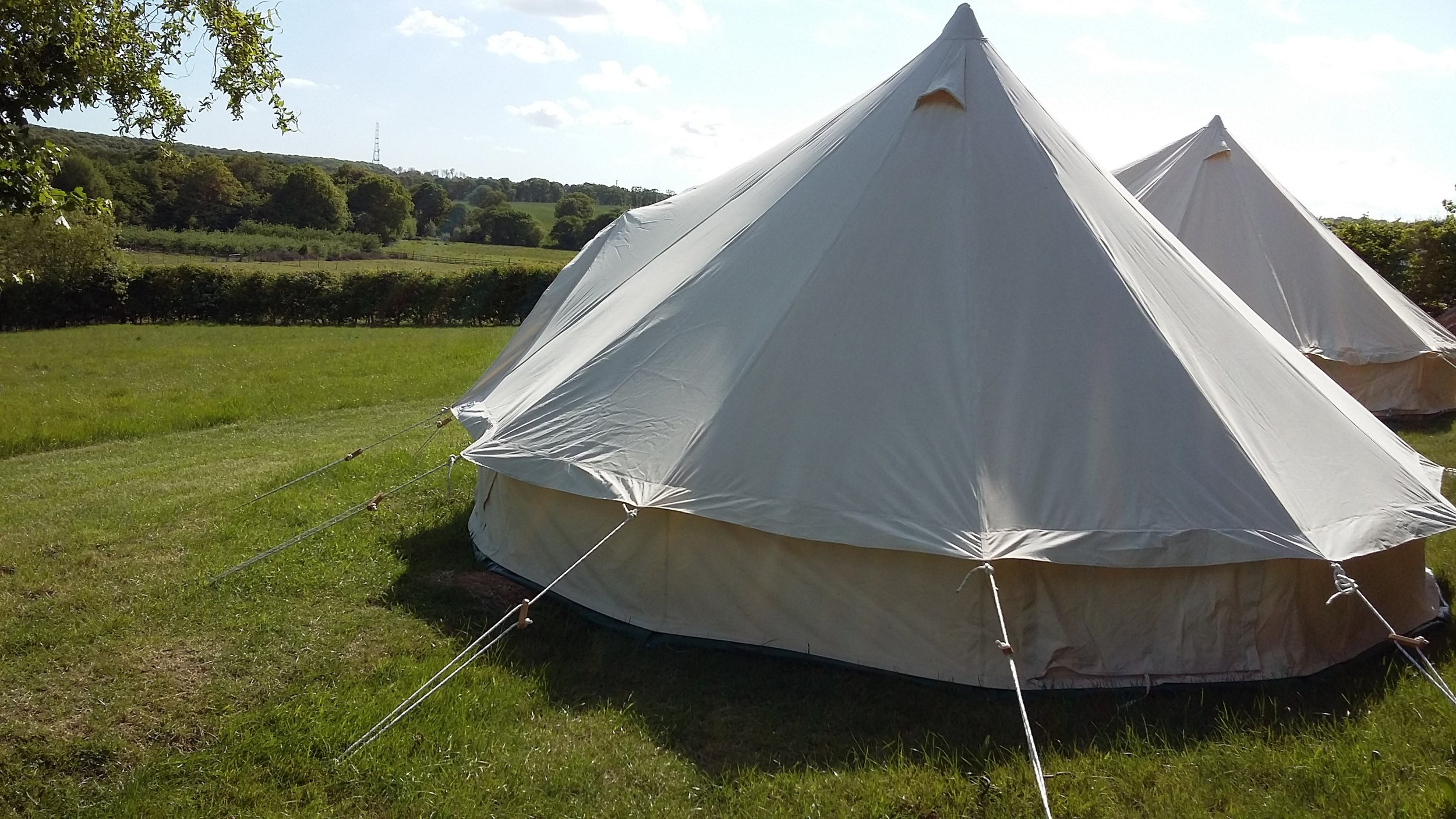 ECO GLAMPING   Book our bell tent experience    Find out more