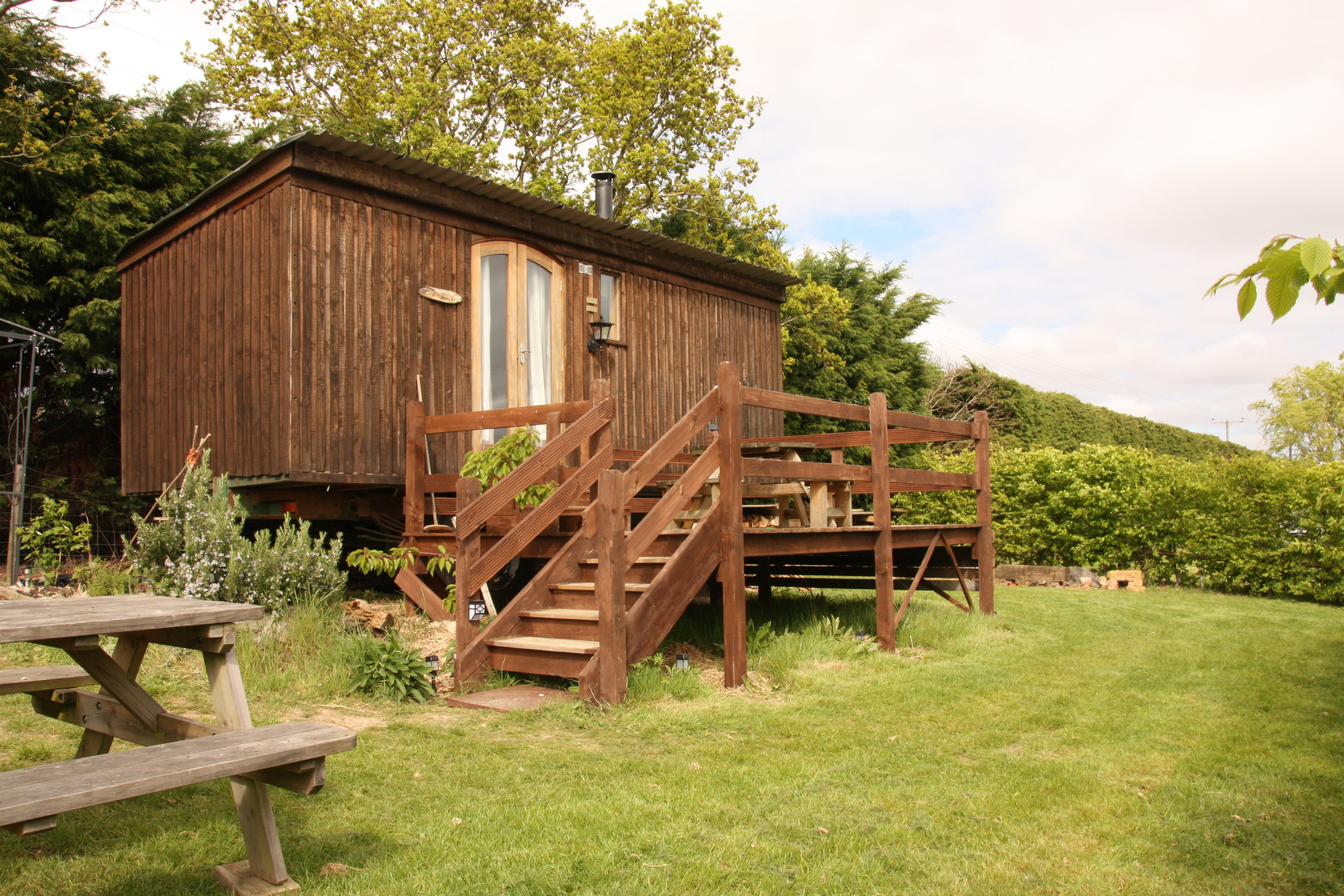 Eco Hut Experience    Try our new shepherd hut   Find out more