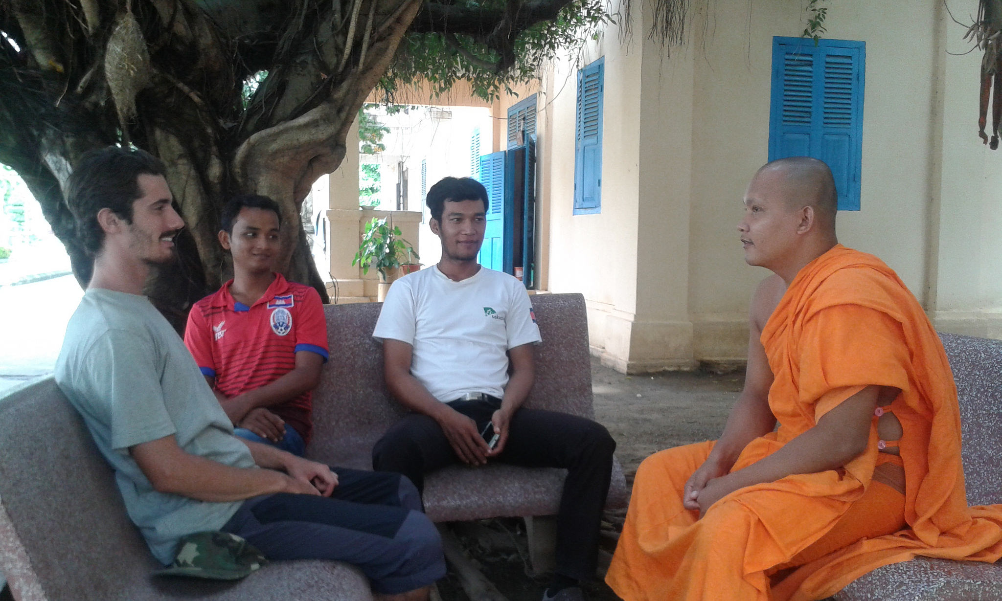 Chat with a monk