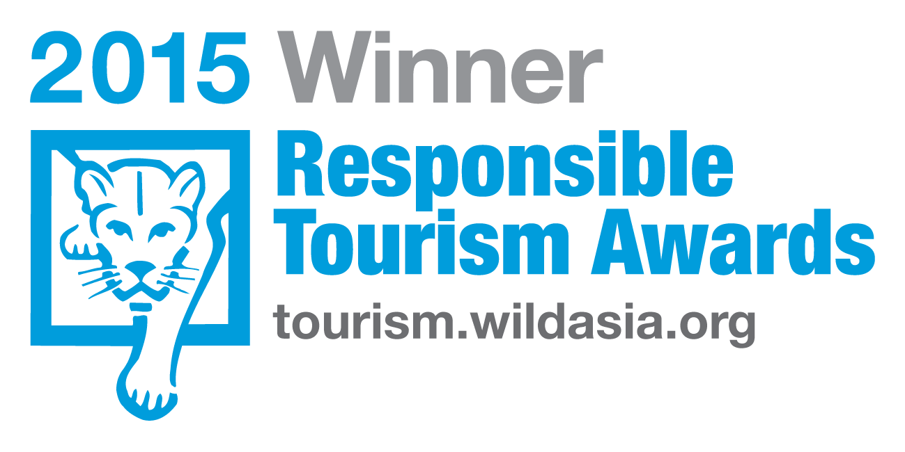 Wild Asia Responsible Tourism Award Winner 2015