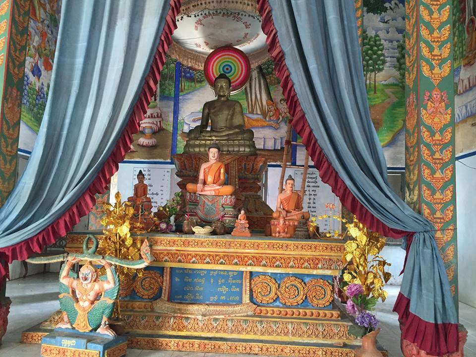 Buddha inside Chueteal temple