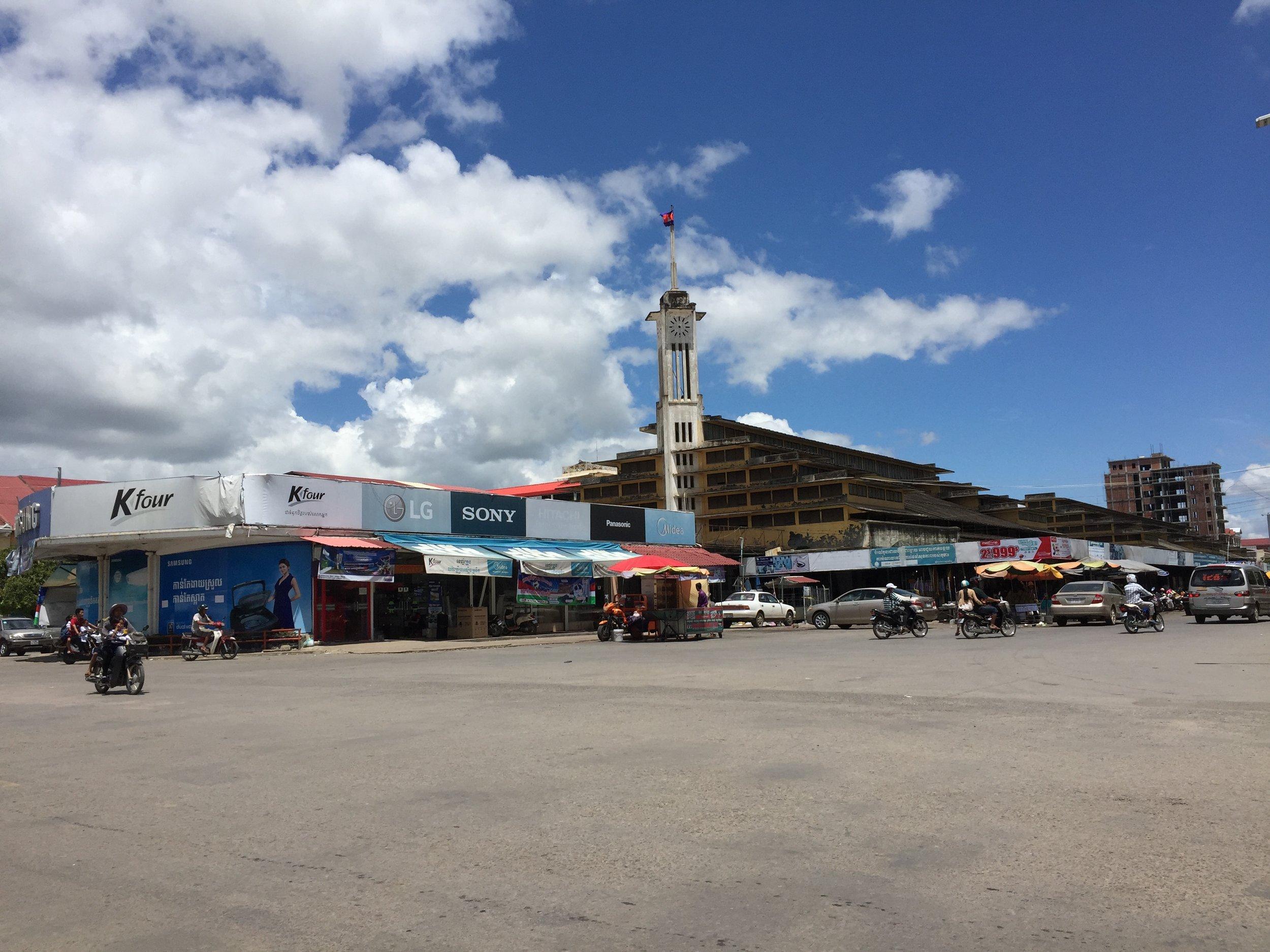 The Central Market of Battambang, P'sa Nat