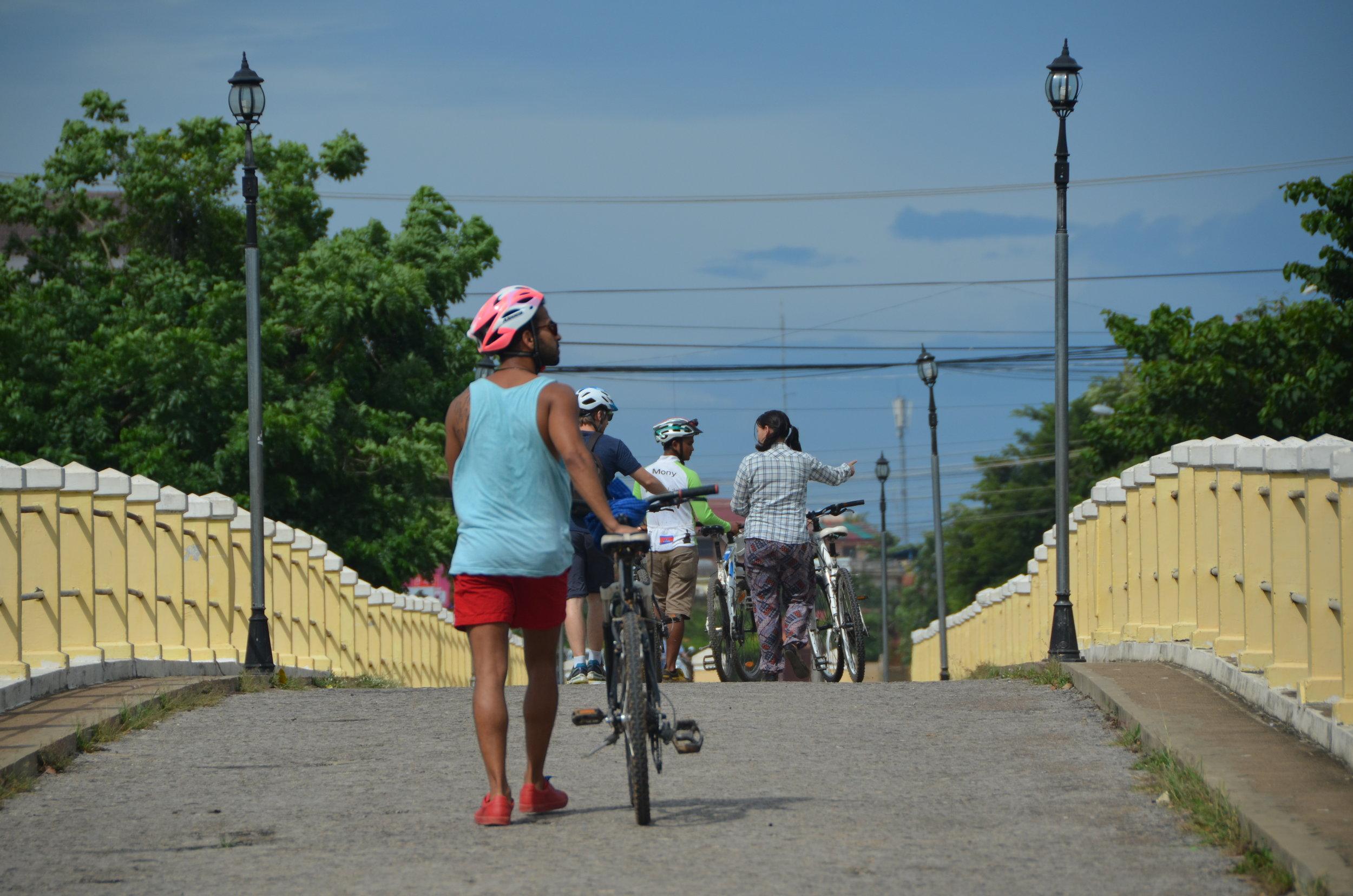 Old French bridge, Battambang