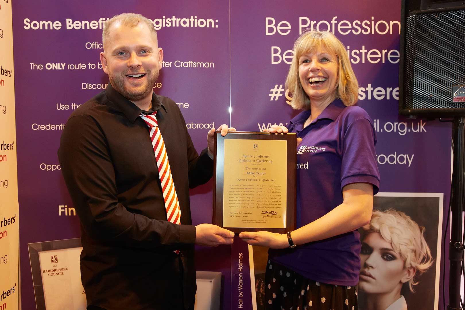 Mike Taylor Education Award