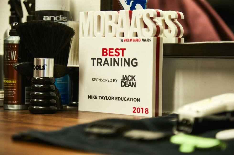 Best Training Award MOBAA'S